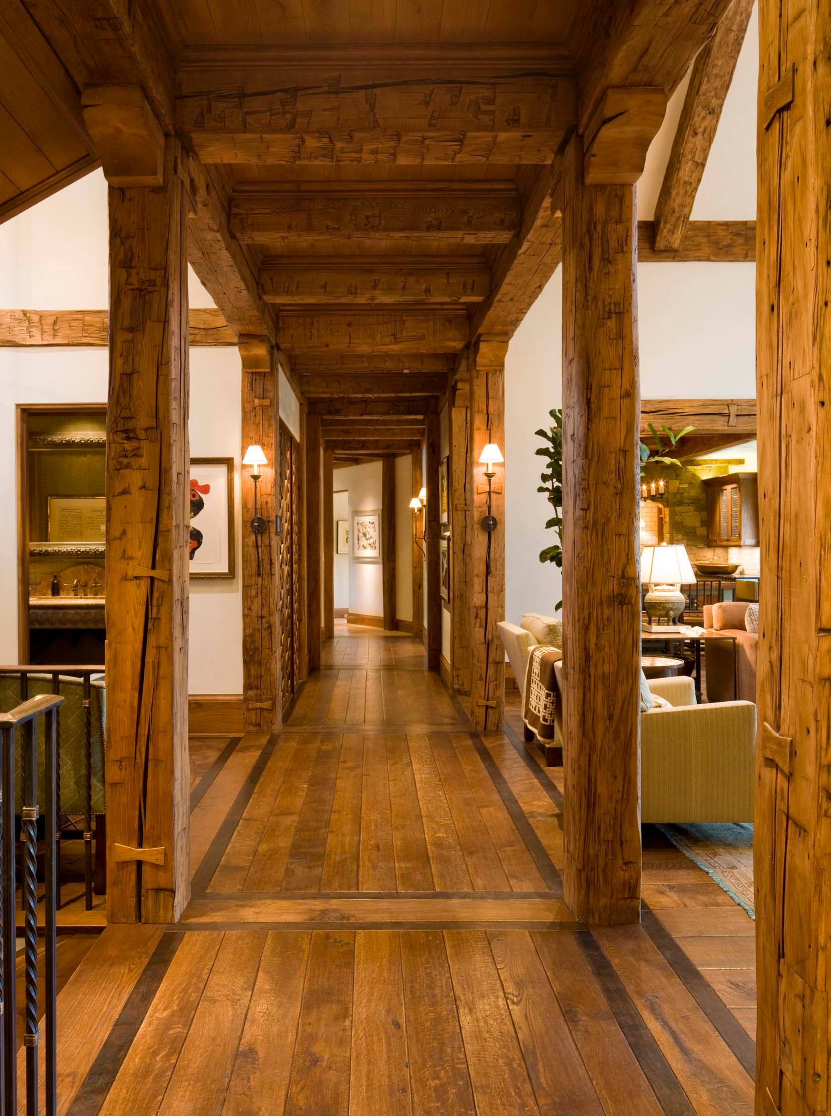 Home Interior Design Ideas: 15 Great Rustic Hallway Designs That Will Inspire You With