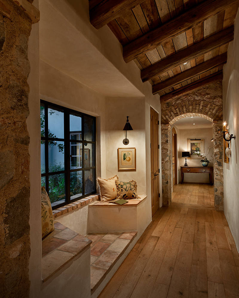Home Interior Entrance Design Ideas: 15 Great Rustic Hallway Designs That Will Inspire You With