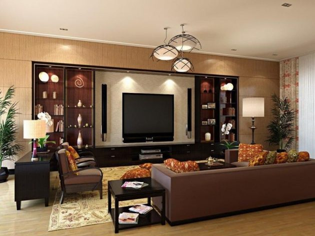 18 Timeless Living Room Designs With, Brown Colors For Living Room