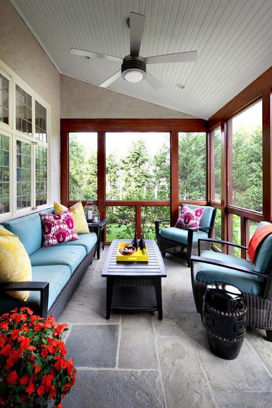 18 Clever Options For Closed Balcony To Enjoy In All ... on Closed Patio Design id=47697