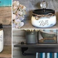 16 Fascinating Handmade Bathroom Organization Ideas