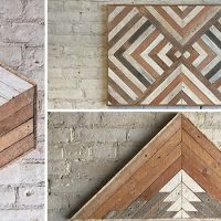 16 Mind-blowing Handmade Reclaimed Wood Wall Art Designs