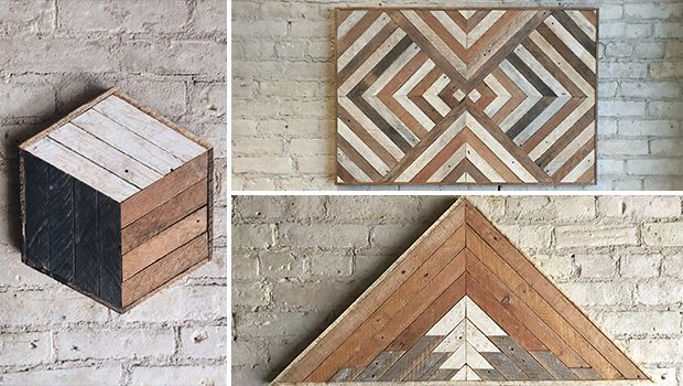 16 Mind-blowing Handmade Reclaimed Wood Wall Art Designs