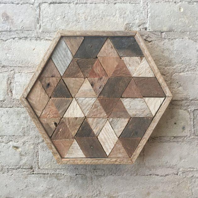16 Mind blowing Handmade Reclaimed Wood Wall Art Designs