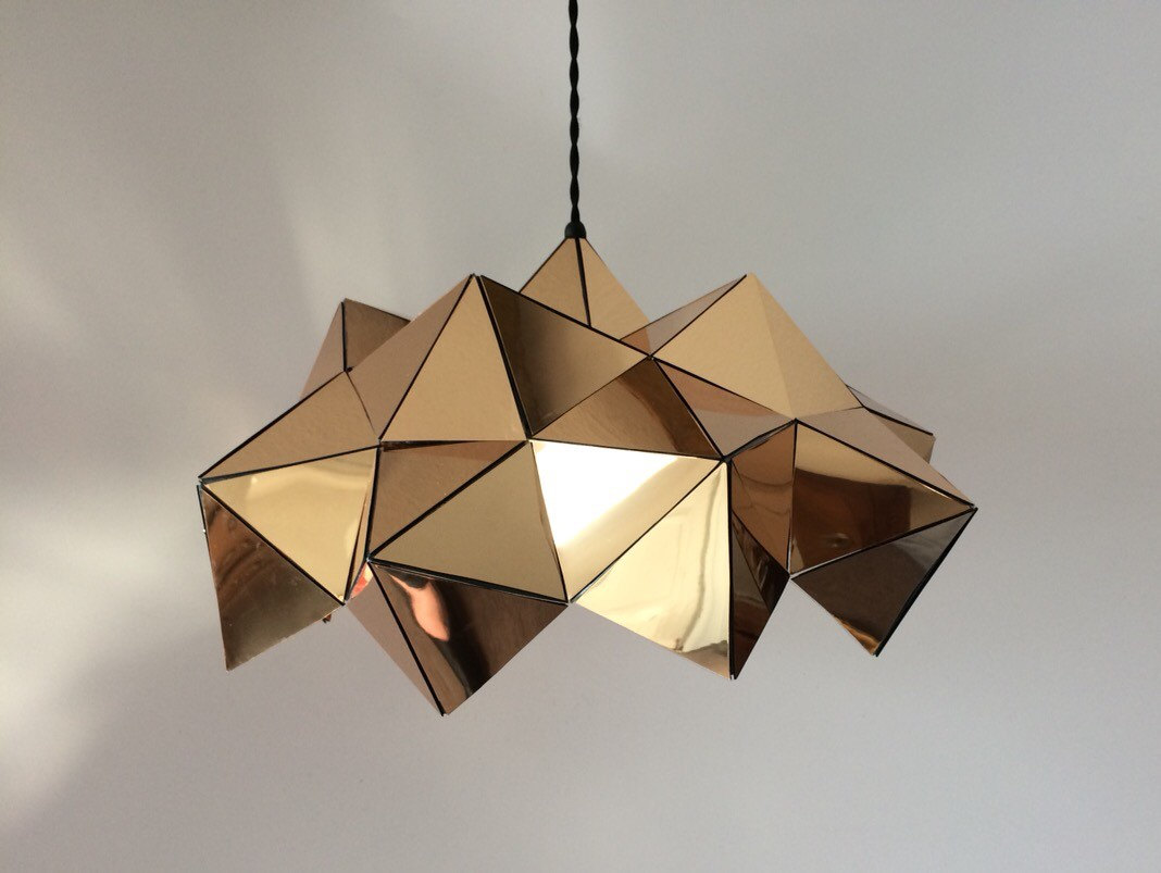 16 perfect geometric light designs to decorate your home with for Designs com