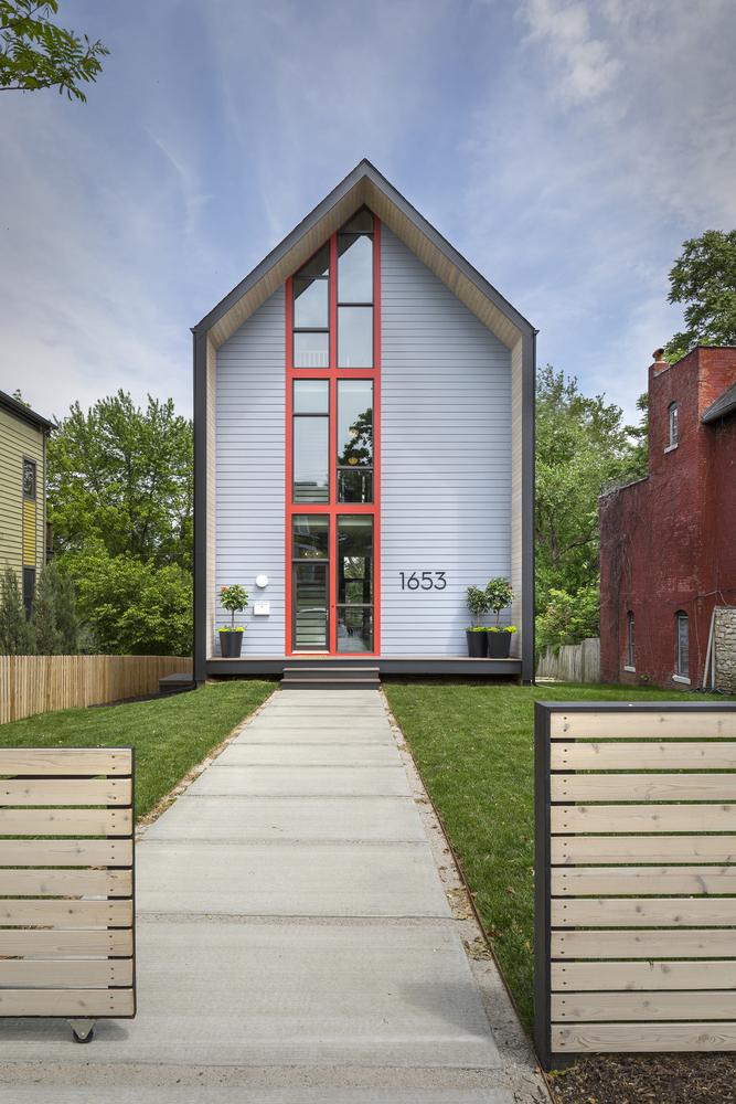 1653 residence by studio build in kansas city usa for Design homes kc