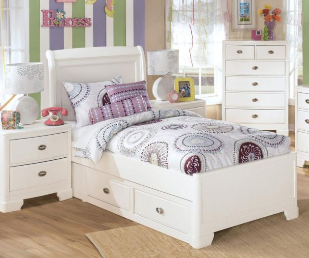 17 Outstanding Child's Bed Designs With Storage Drawers