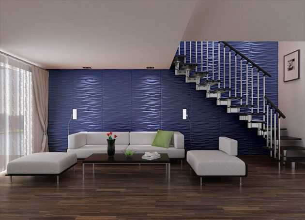 17 fascinating 3d wallpaper ideas to adorn your living room for Space design wallpaper