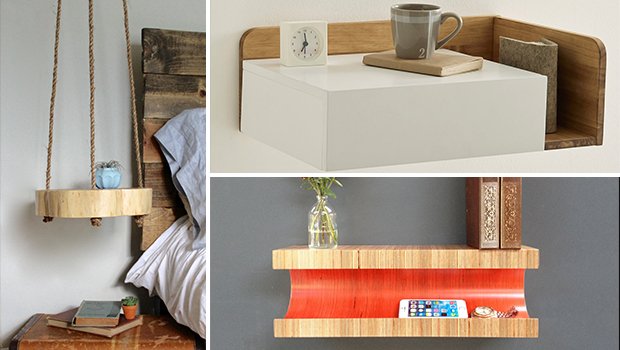 Night Stand Designs : Classy and practical nightstand designs for your bedroom