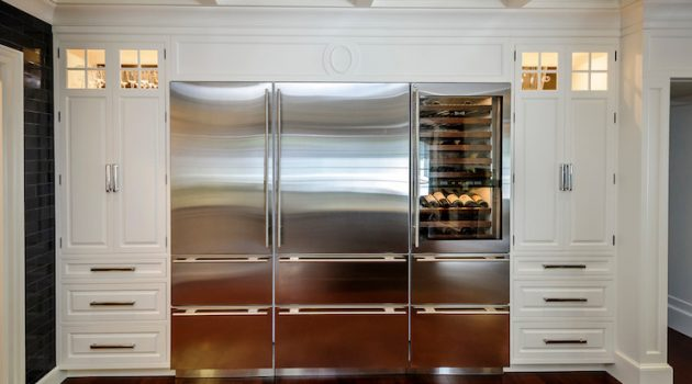 18 Functional Kitchen Ideas With Integrated Refrigerator