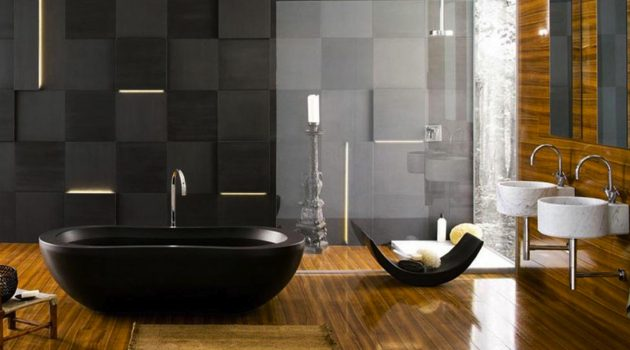 Interior Design Awesome Some Refreshingly Unique Inside Design in Cool Bathroom Wallpapers - Wardrobe Decor Ideas