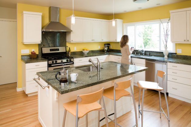 17 Cheerful Yellow Kitchen Designs That You Have To See
