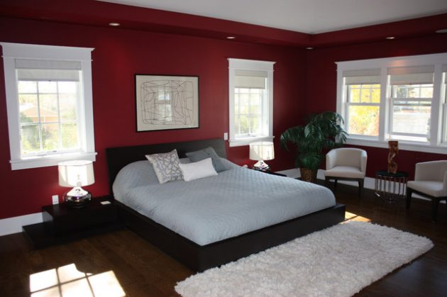 15 Spectacular Red Bedroom Designs For More Dramatic Atmosphere