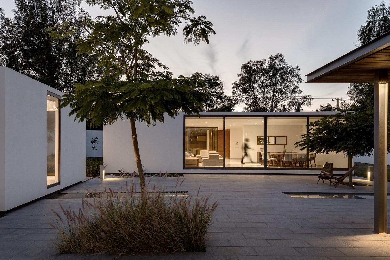 4 1 4 house by as d asociaci n de dise o in jurica mexico - Arquitectura minimalista ...