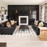 18 Extravagant Black Living Room Designs That Never Go Out Of Fashion