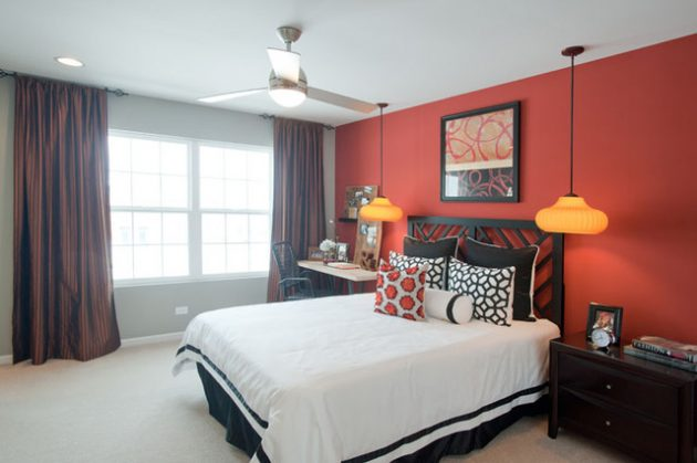 15 Spectacular Red Bedroom Designs For More Dramatic