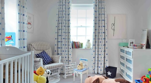 16 Interesting Options For Curtains In The Child's Room
