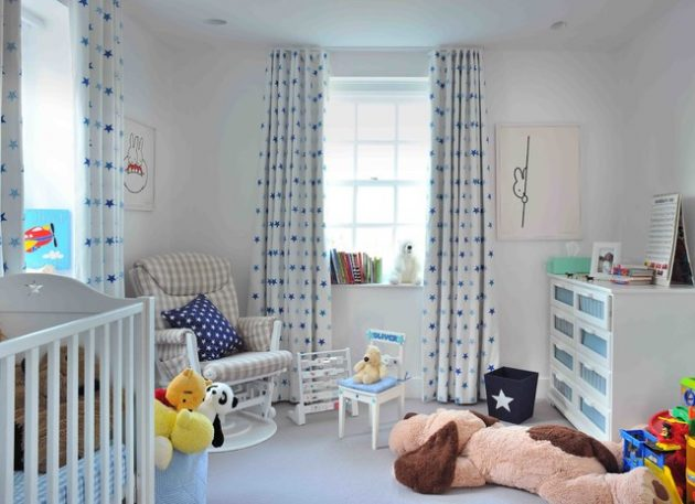 16 Interesting Options For Curtains In The Childs Room