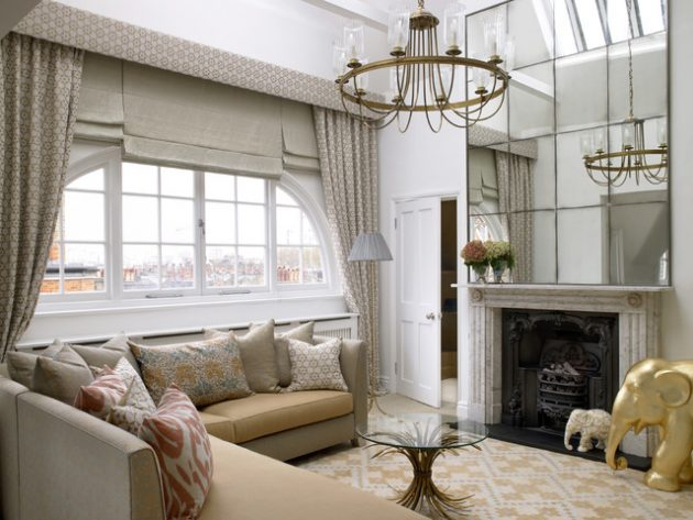 19 Engrossing Living Room Mirrors That Will Admire You