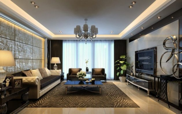 17 Magnificent Ideas For Decorating Large Living Room