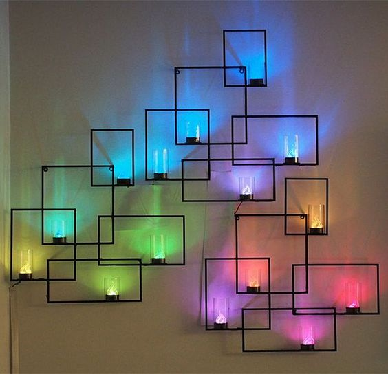 Home Design Ideas Diy: 10 Cool Wall Lamp Designs To Adorn Your Living Space