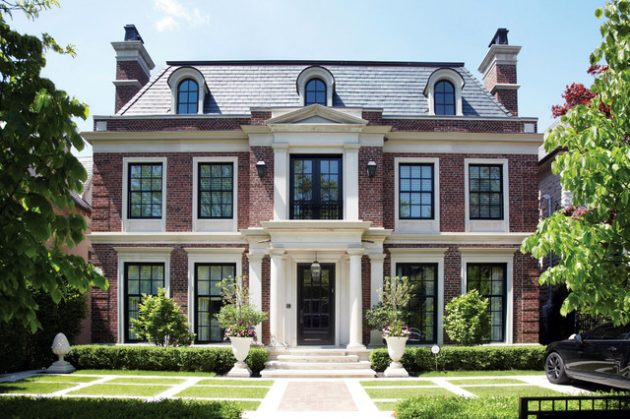 16 Captivating Brick Exterior Designs That You Must See