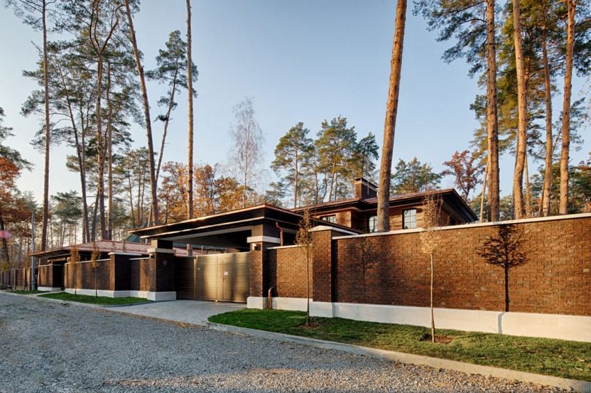 A Contemporary Prairie House by Yunakov