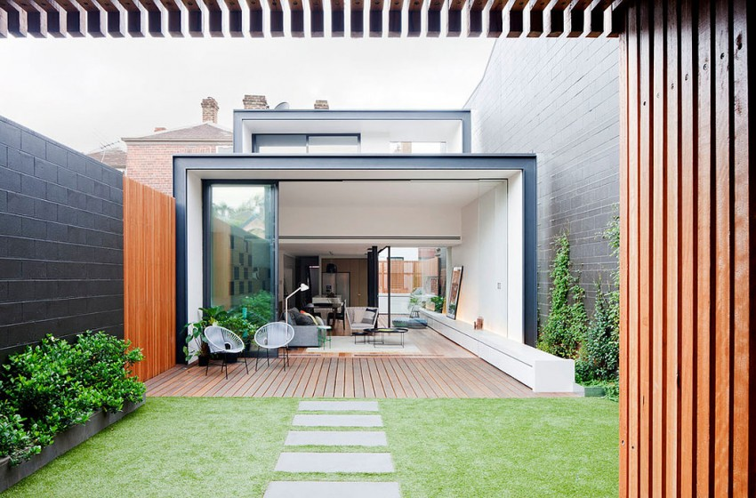 Bridport house by matt gibson architecture design in for Courtyard designs melbourne
