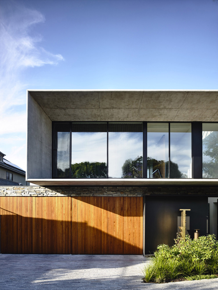 Concrete house by matt gibson architecture in melbourne for Design casa