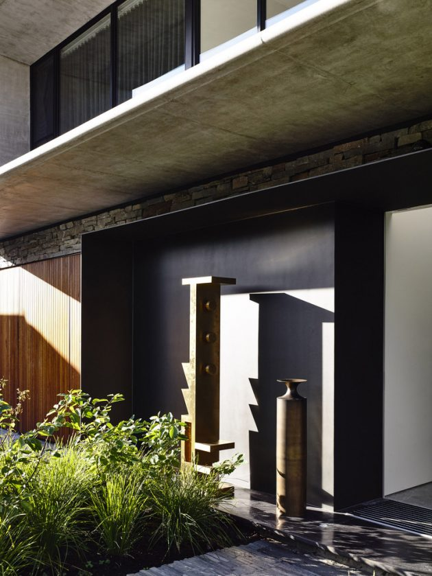 Concrete House by Matt Gibson Architecture in Melbourne, Australia