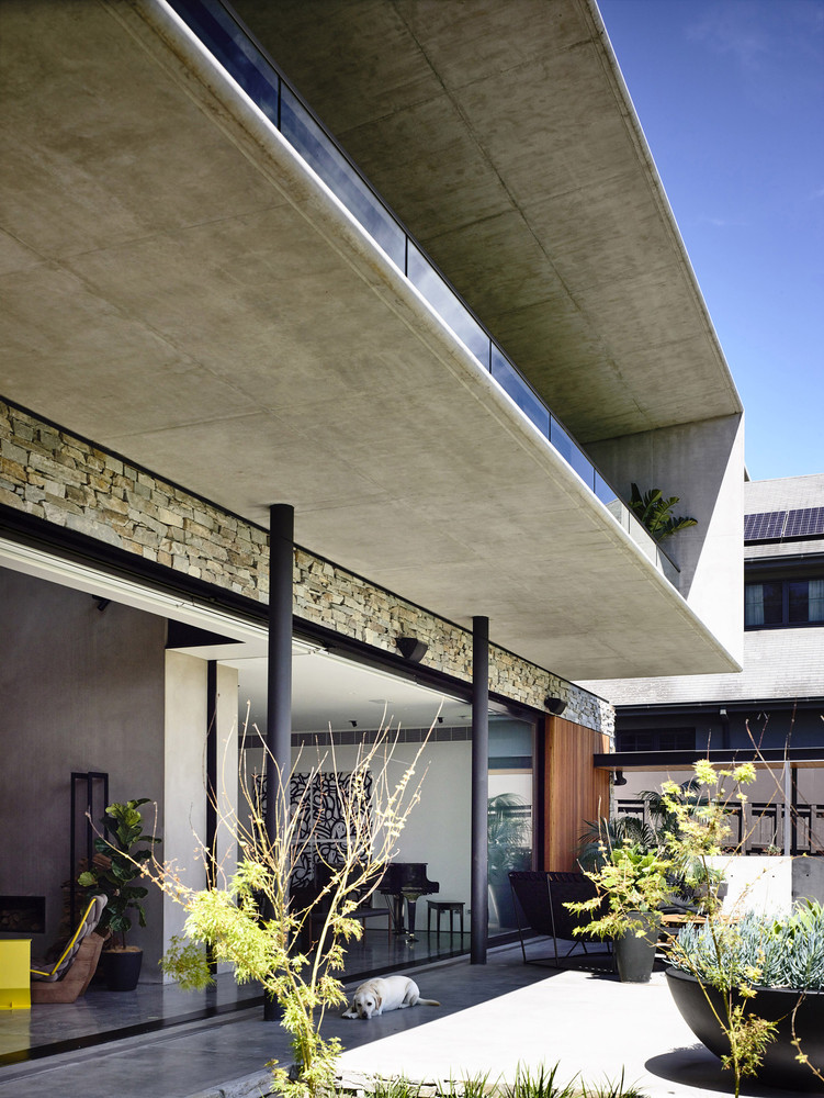 Concrete House By Matt Gibson Architecture In Melbourne