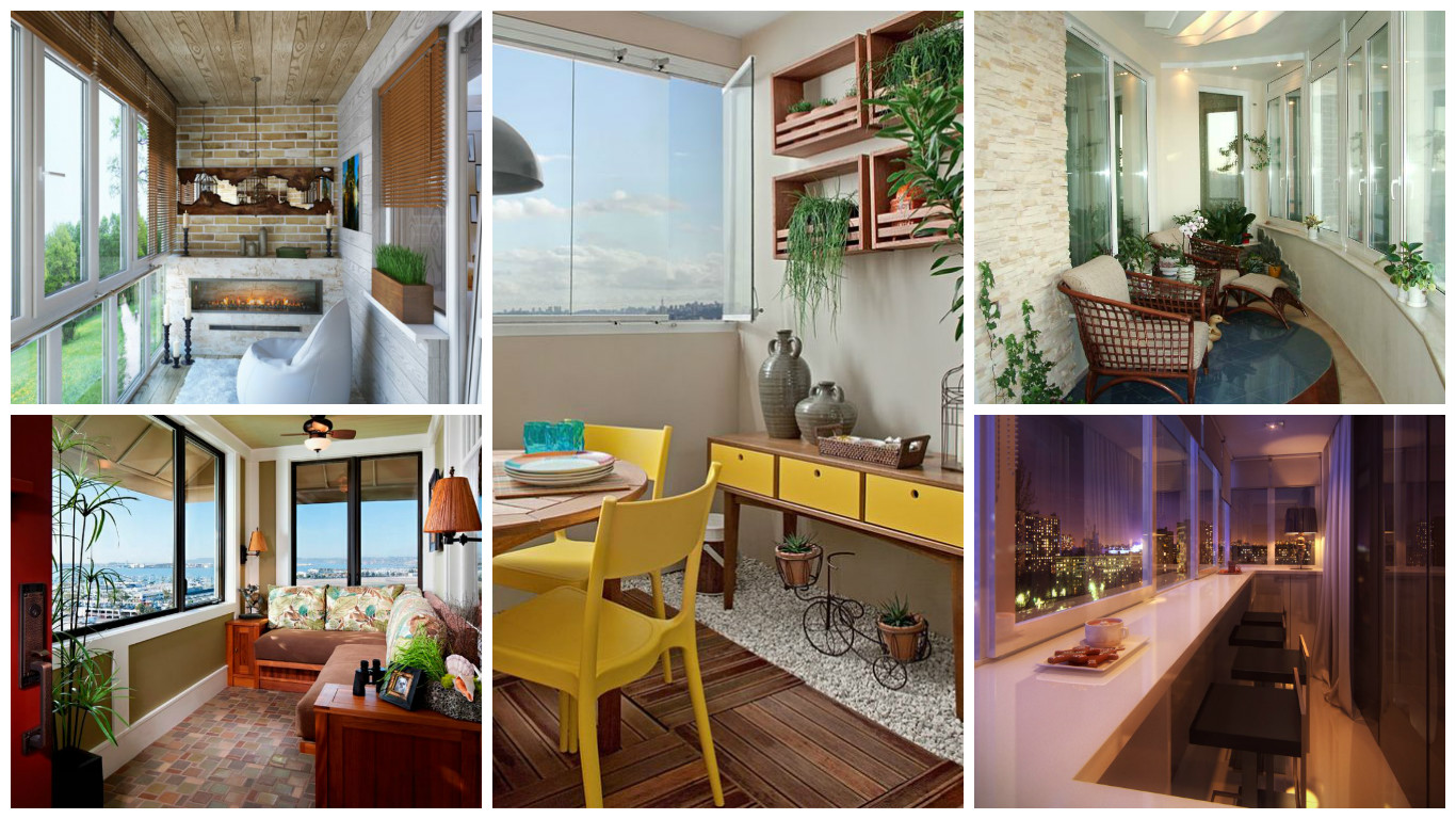 18 clever options for closed balcony to enjoy in all weather.