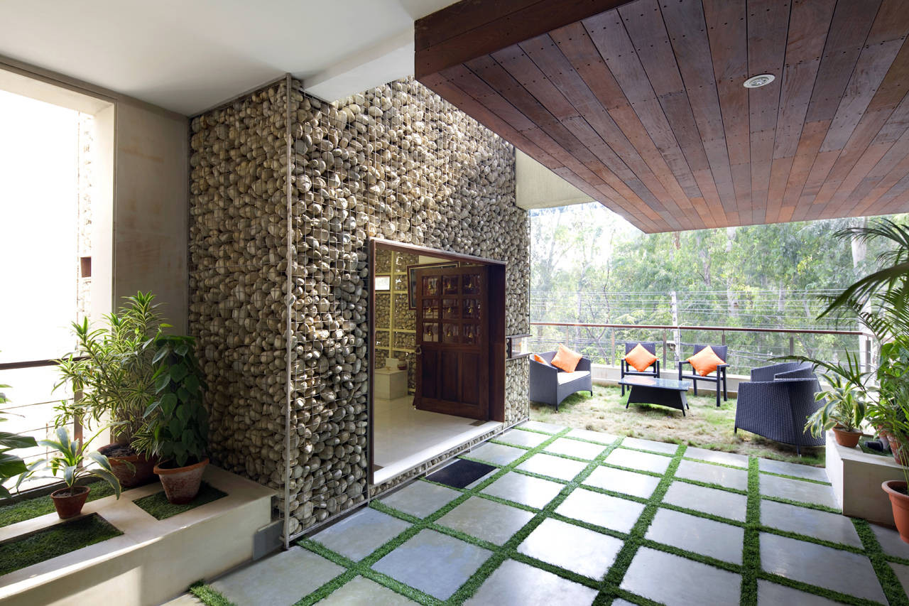 kindred house by anagram architects in new delhi india