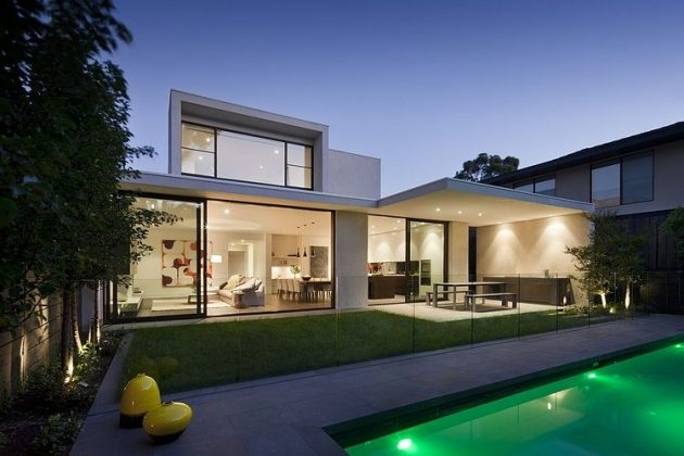 Lubelso Residence by Canny in Malvern, Australia