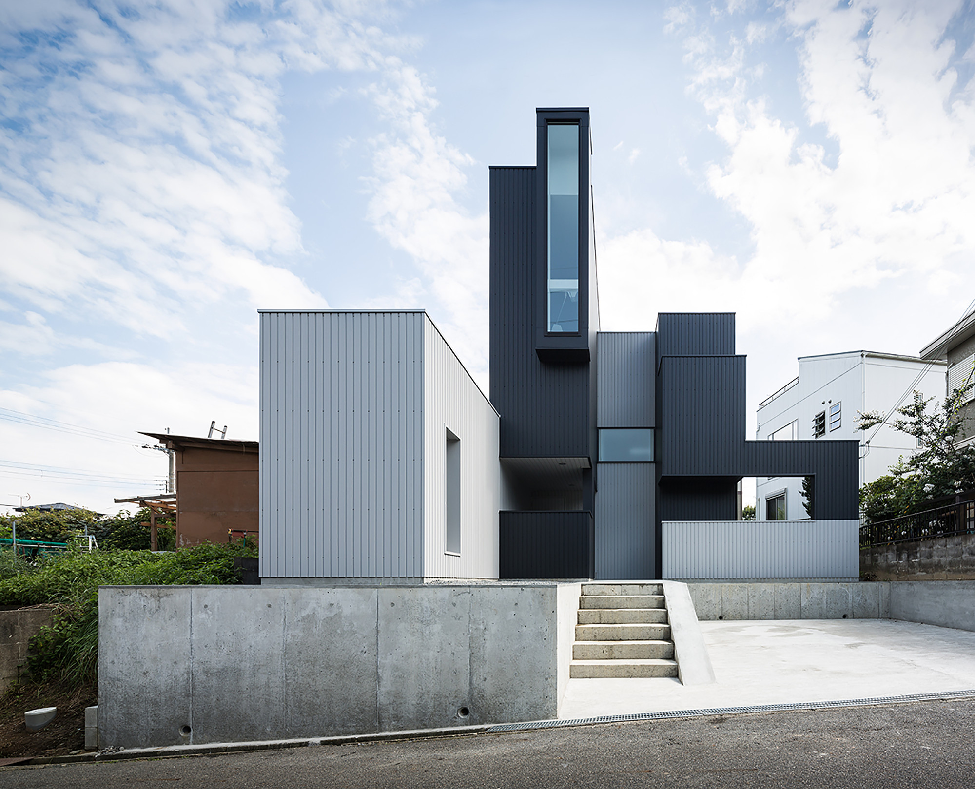 Scape house by form kouichi kimura architects in shiga japan - Architecturen volumes ...