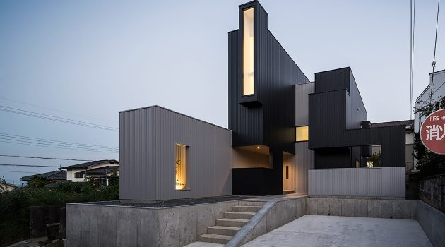 Scape House by FORM – Kouichi Kimura Architects in Shiga, Japan