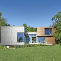 T House by Natalie Dionne Architecture in Sutton, Canada