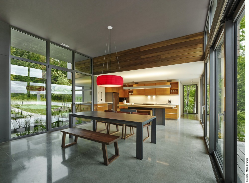 T house by natalie dionne architecture in sutton canada - Natalie dionne architecte ...
