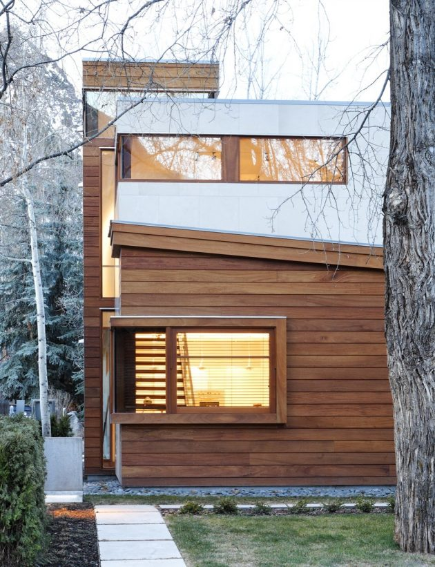 The Nove 1 Residences by Studio B Architects in Aspen, Colorado