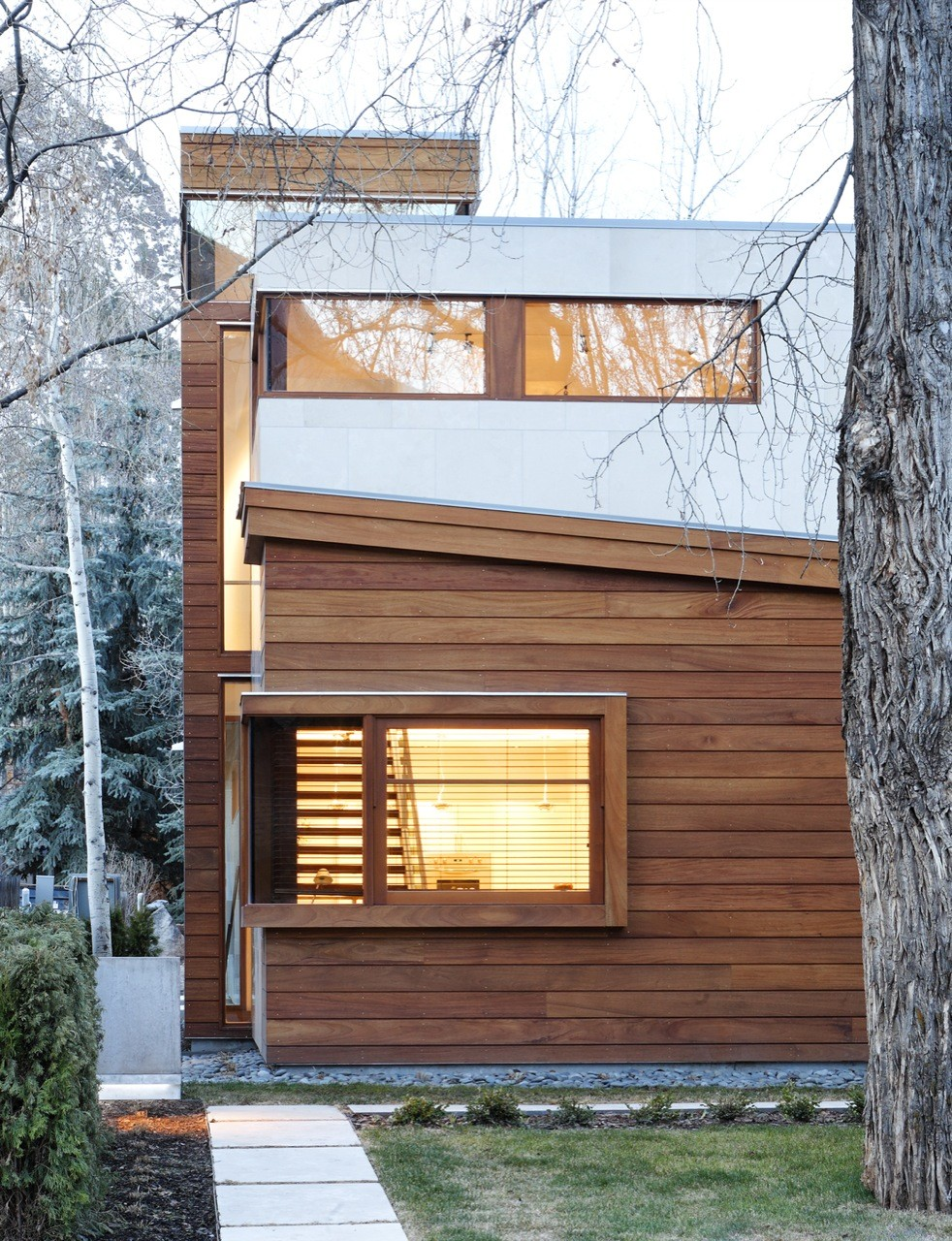 The nove 1 residences by studio b architects in aspen for Aspen home design
