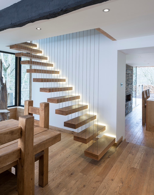 17 Functional Ideas For Illuminating Your Internal Stairs