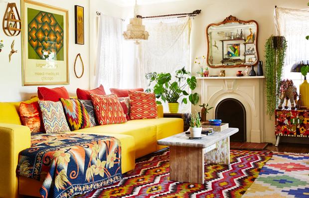 Bon Boho Style Living Room Gopelling Net