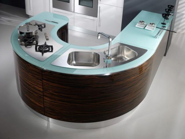 17 Fascinating Kitchen Glass Surfaces That You Every Kitchen Need To Have