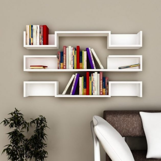 18 Cool Contemporary Shelves Designs That You Shouldnt Miss