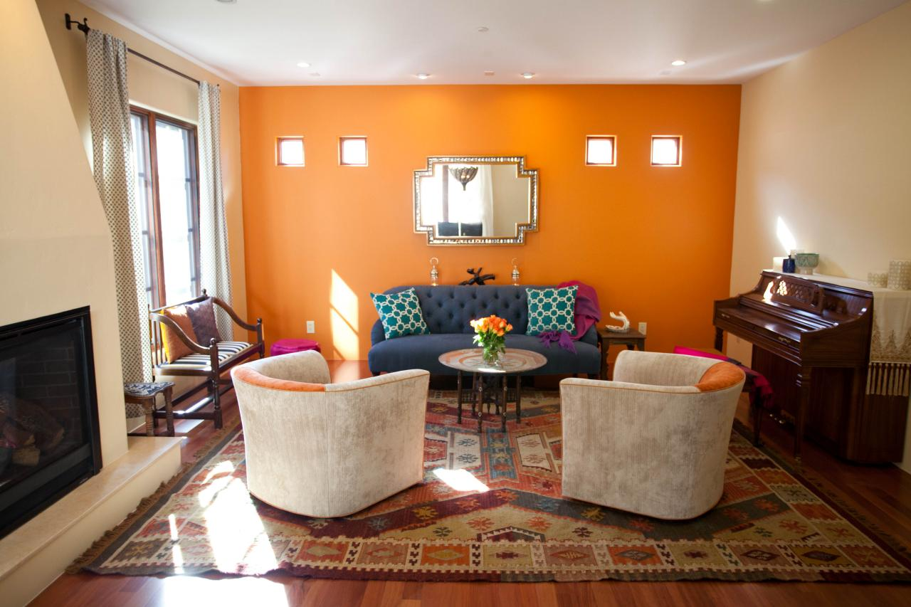 18 absolutely stunning interior designs with bold accent wall Interior design painting accent walls