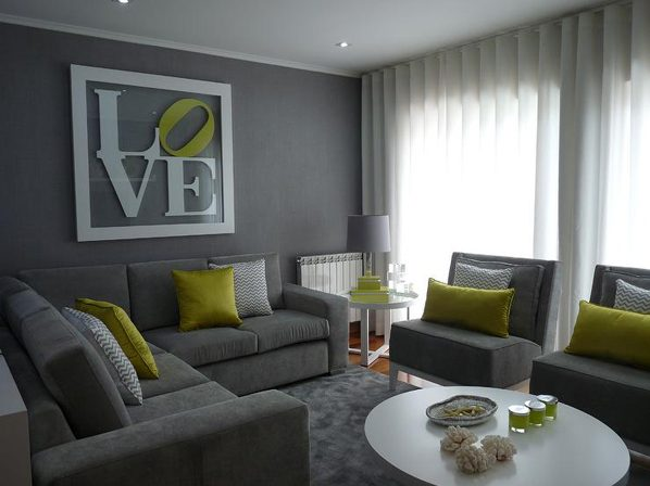 20 Really Amusing Living Rooms With Combinations Of Grey & Green