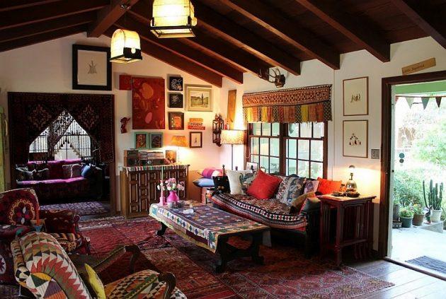 title | Boho Style Living Room
