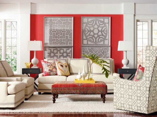 18 Absolutely Stunning Interior Designs With Bold Accent Wall
