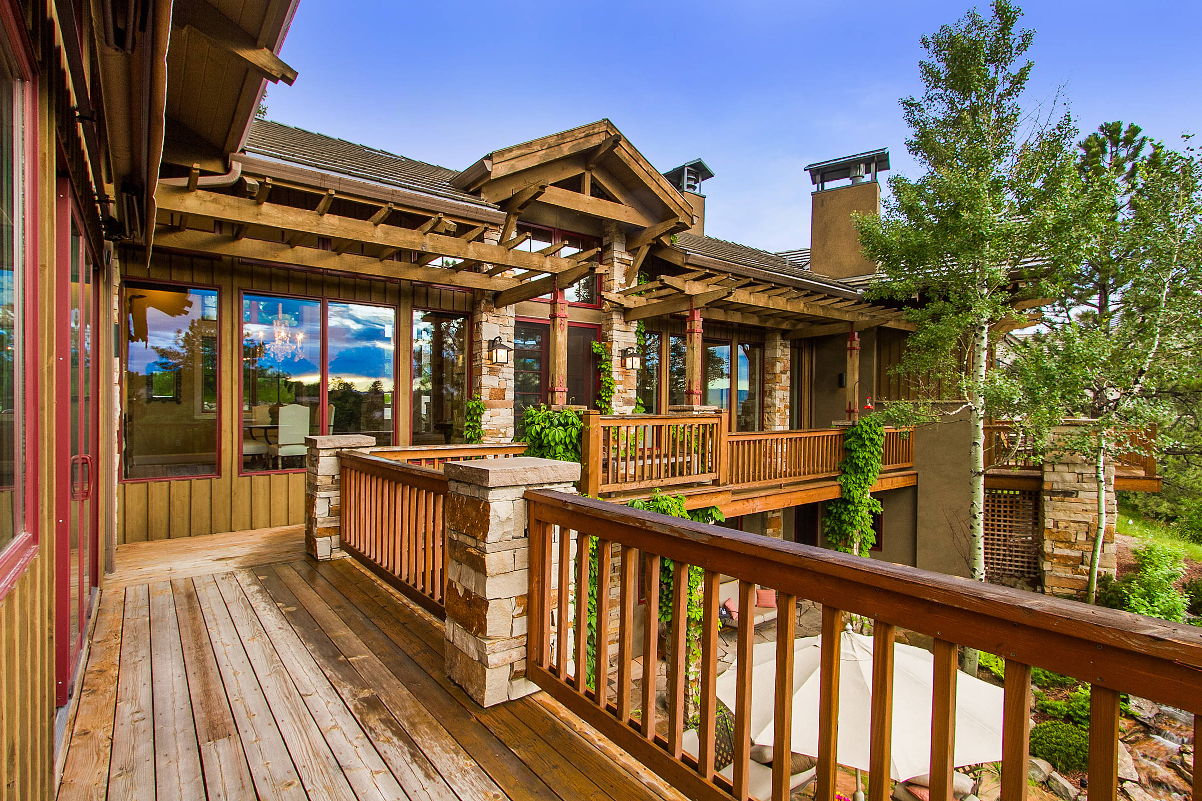 15 Amazing Rustic Deck Designs That Will Enhance Your ... on Garden Patio Decking Ideas id=19560