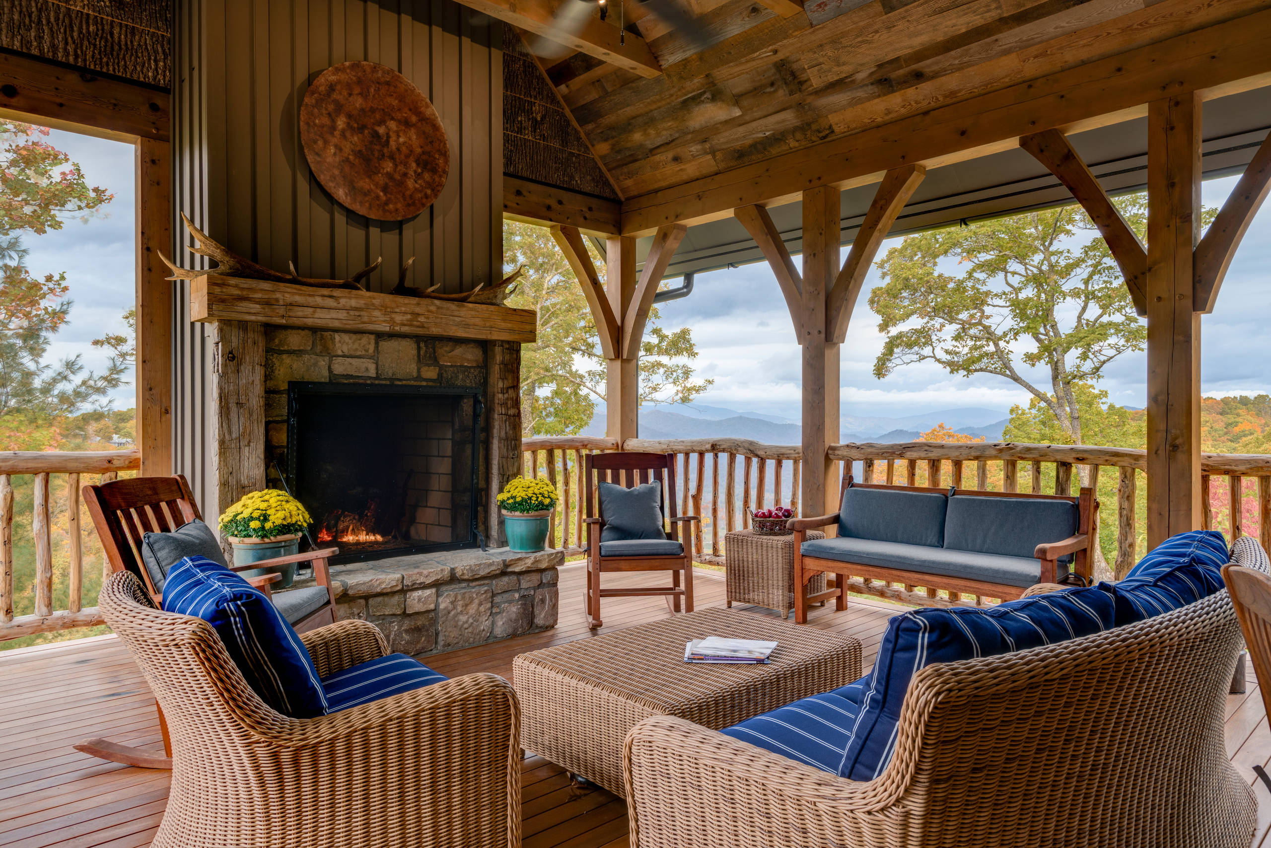 Home Deck Design Ideas: 15 Amazing Rustic Deck Designs That Will Enhance Your